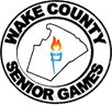 Wake County Senior Games Retina Logo